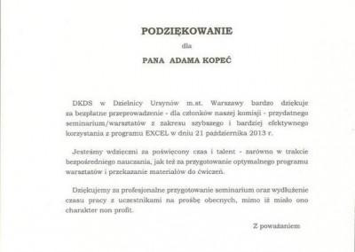 Dzielnicowa Komisja Dialogu Społecznego dla dzielnicy Ursynów