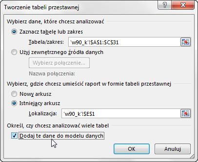 Widzowie 91 - Jak obliczyć unikalną ilość elementów pod warunkiem - tabela przestawna Excel 2013 02