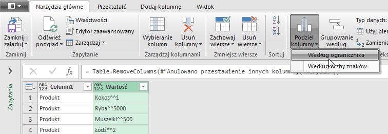 PowerQuery 2 - Łączenie kolumn z danymi 10