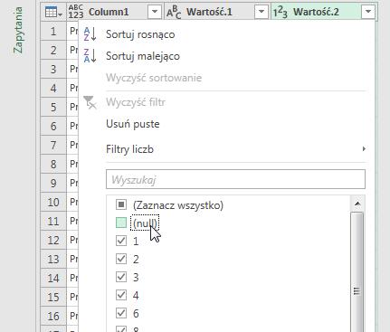 PowerQuery 2 - Łączenie kolumn z danymi 11
