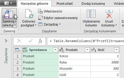 PowerQuery 2 - Łączenie kolumn z danymi 12