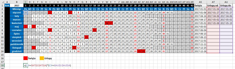 widzowie 116 - Jak zaznaczyć urlop w kalendarzu 03