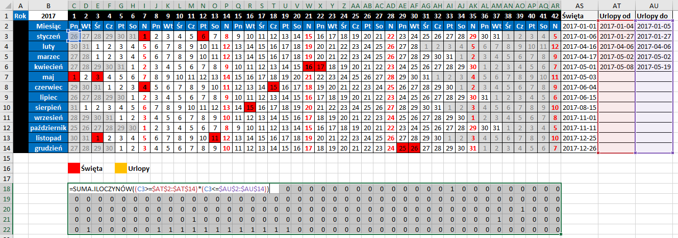 widzowie 116 - Jak zaznaczyć urlop w kalendarzu 04