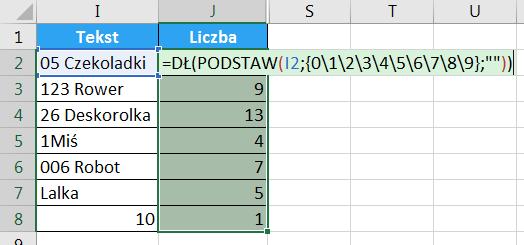 Porada 294 - Jak wyciągnąć liczbę z początka lub końca tekstu 09