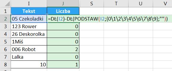 Porada 294 - Jak wyciągnąć liczbę z początka lub końca tekstu 10
