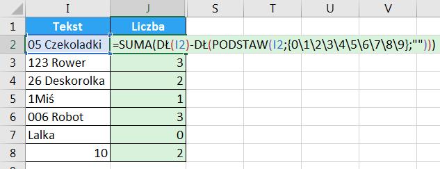 Porada 294 - Jak wyciągnąć liczbę z początka lub końca tekstu 11