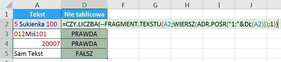 Porada 296 - Jak wyciągnąć wszystkie cyfry z tekstu bez POŁĄCZ.TEKSTY i formuł tablicowych 02