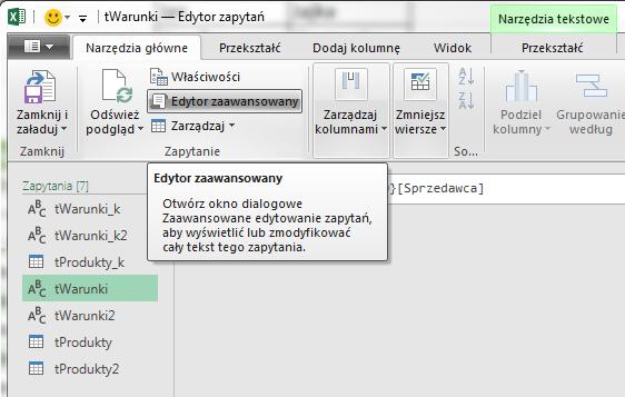 PQ 10 - Jak pobierać wartość z Excela do PowerQuery 09