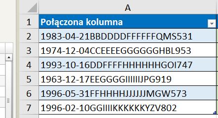 PQ 3 - Podział kolumny po ilości znaków - 01