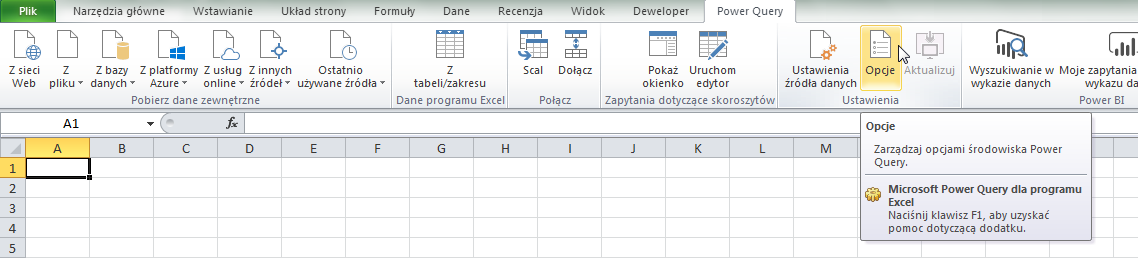PQ 9 - Wyłączanie zmiany typu danych i inne opcje PowerQuery 02