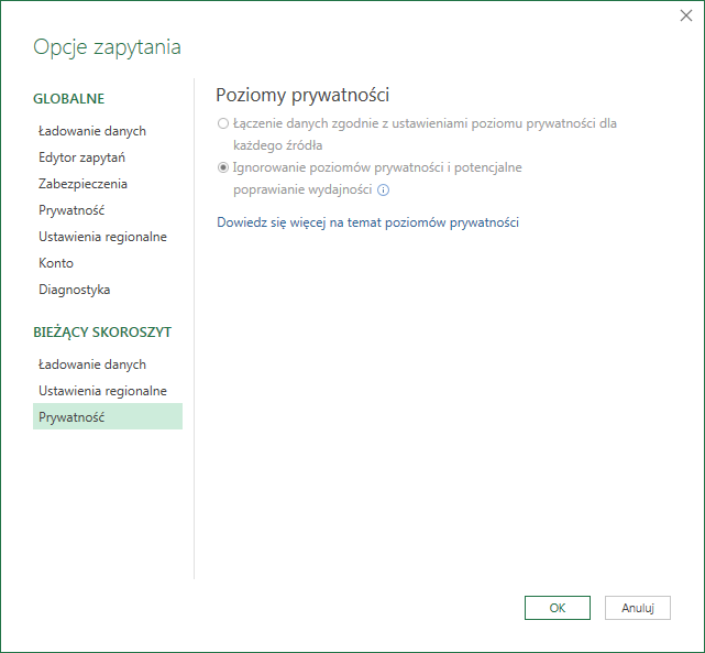 PQ 9 - Wyłączanie zmiany typu danych i inne opcje PowerQuery 06