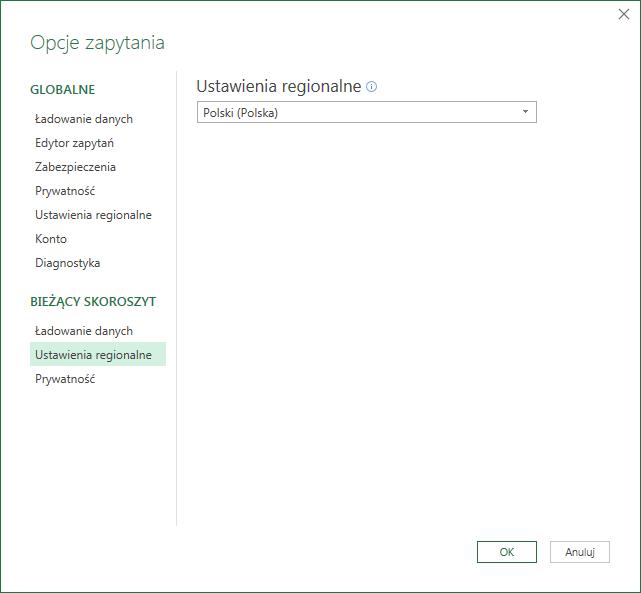 PQ 9 - Wyłączanie zmiany typu danych i inne opcje PowerQuery 08