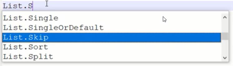 rys. nr 6 - Notepadd pokazuje możliwe nazwy funkcji rozpoczynające się od podanych znaków