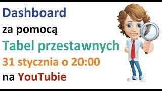 dasboard sprzedażowy za pomocą tabel przestawnych