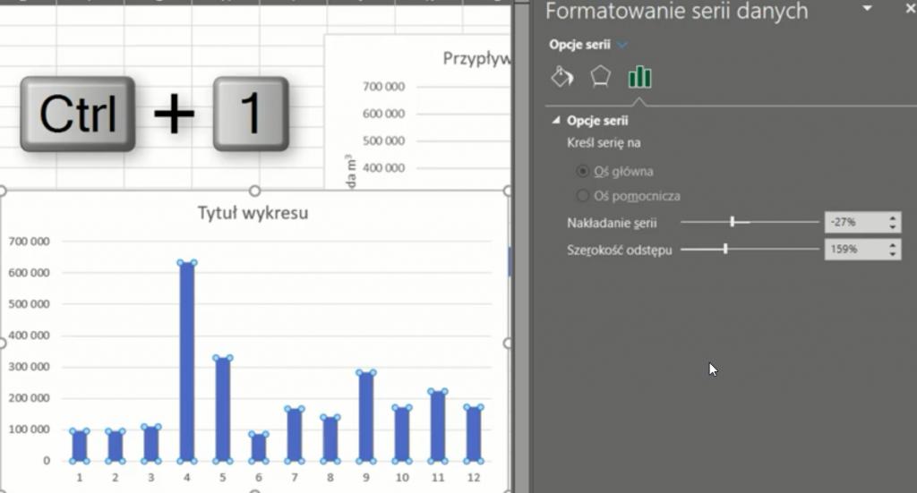 rys. nr 31 - Formatowanie serii danych