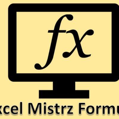 Mistrz Formuł Excela - ikona kursu wideo