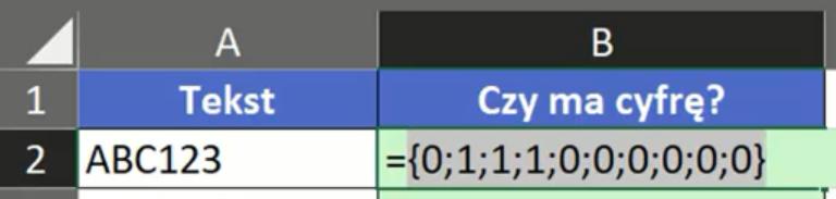Rys. nr 6 – tablica wartości 0 i 1 po zastosowaniu podwójnej negacji