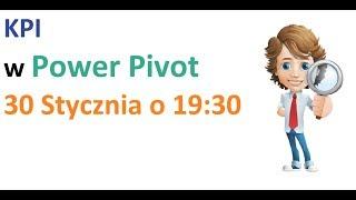 power pivot wskaźniki KPI