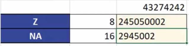 Rys. nr 10 – liczba w zapisie ósemkowym przekształcona na liczbę w systemie szesnastkowym