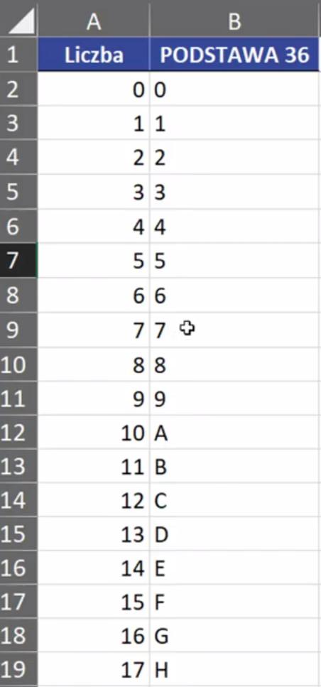 Rys. nr 5 – zapis systemu 36-cio znakowego